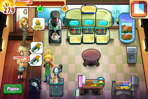 Скриншот Chocolate Shop Frenzy (2008) PC