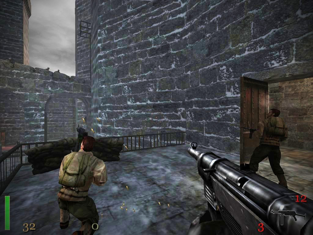 Скриншот Return to Castle Wolfenstein (2001) PC