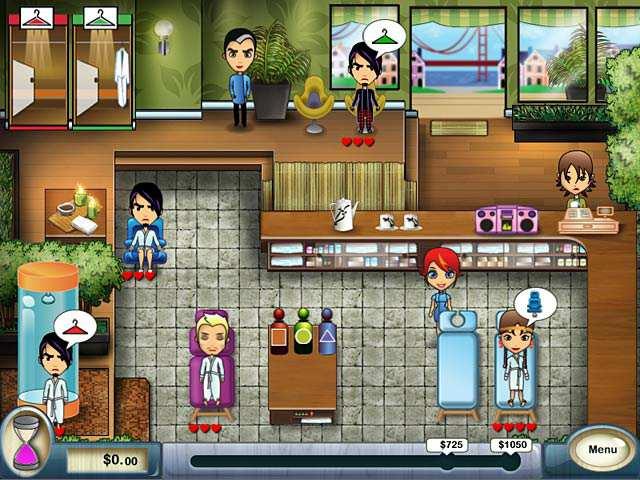 Скриншот Spa Mania (2008) PC