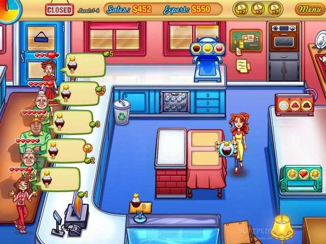 Скриншот Jessica's Cupcake Cafe (2009) PC