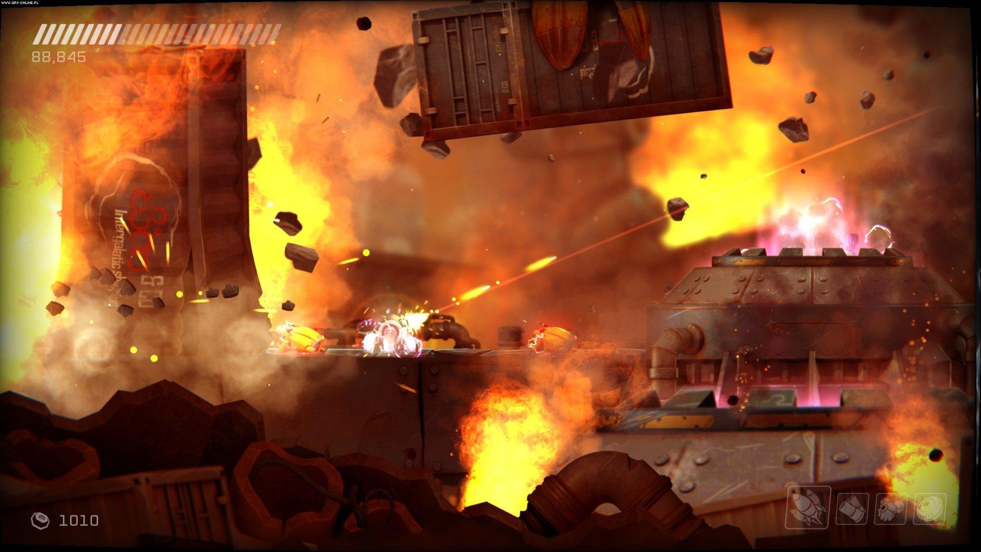 Скриншот RIVE: Wreck, Hack, Die, Retry! (2016) PC