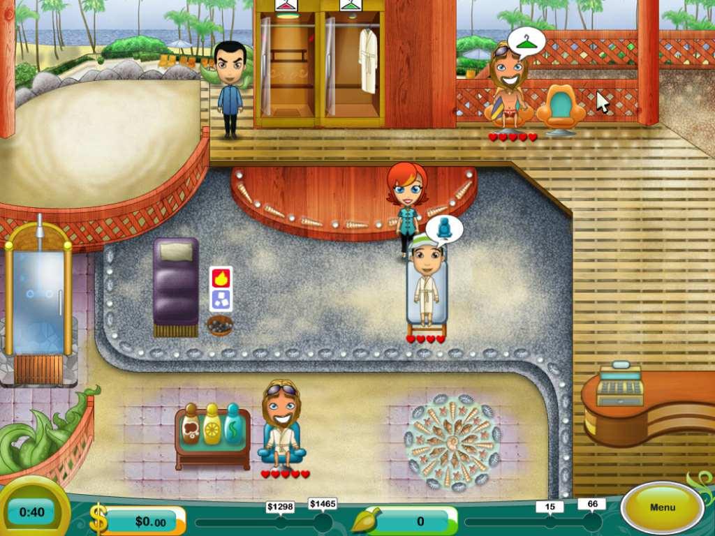Скриншот Spa Mania 2 (2009) PC