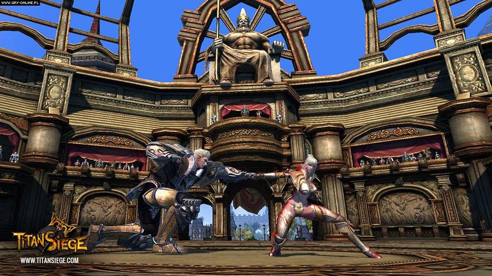 Скриншот Titan Siege (2016) PC