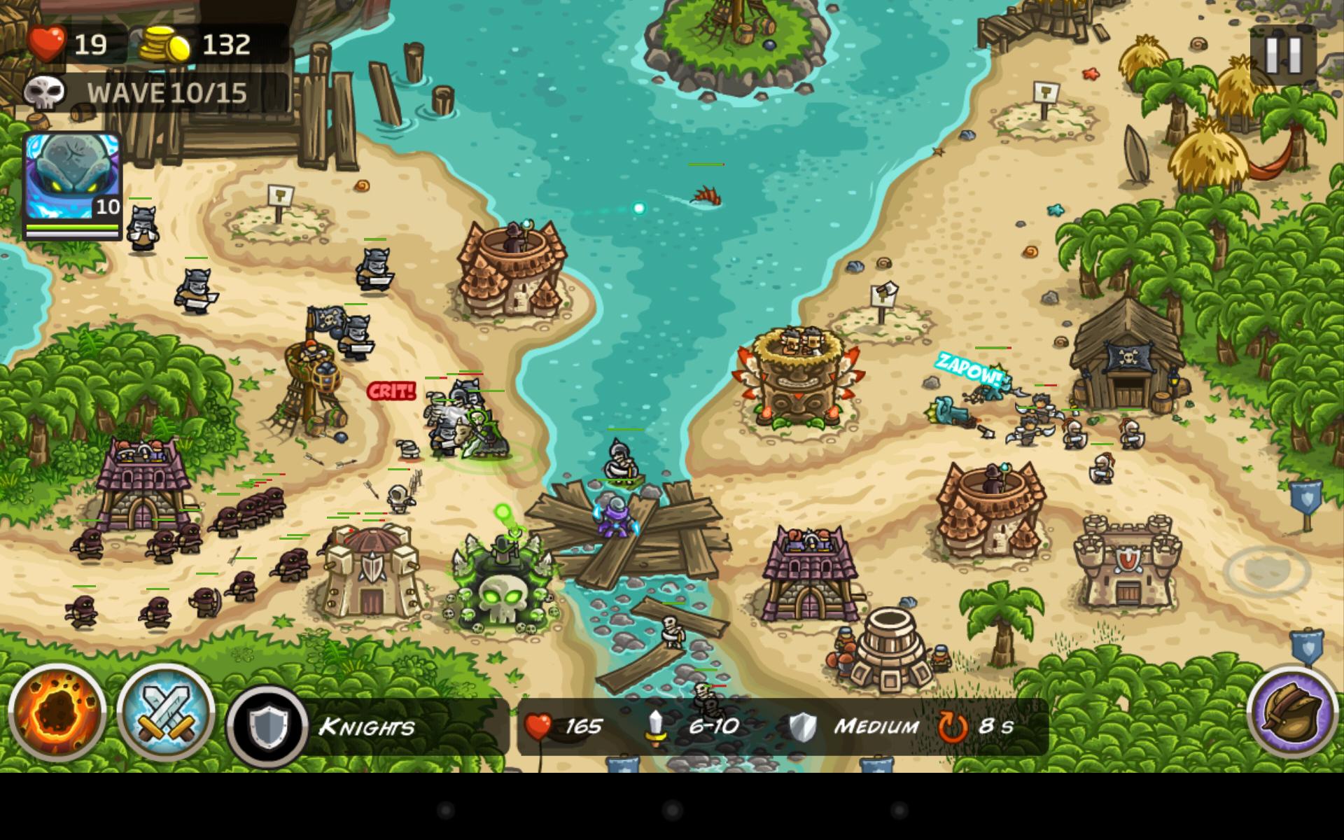 Скриншот Kingdom Rush Frontiers (2016) PC