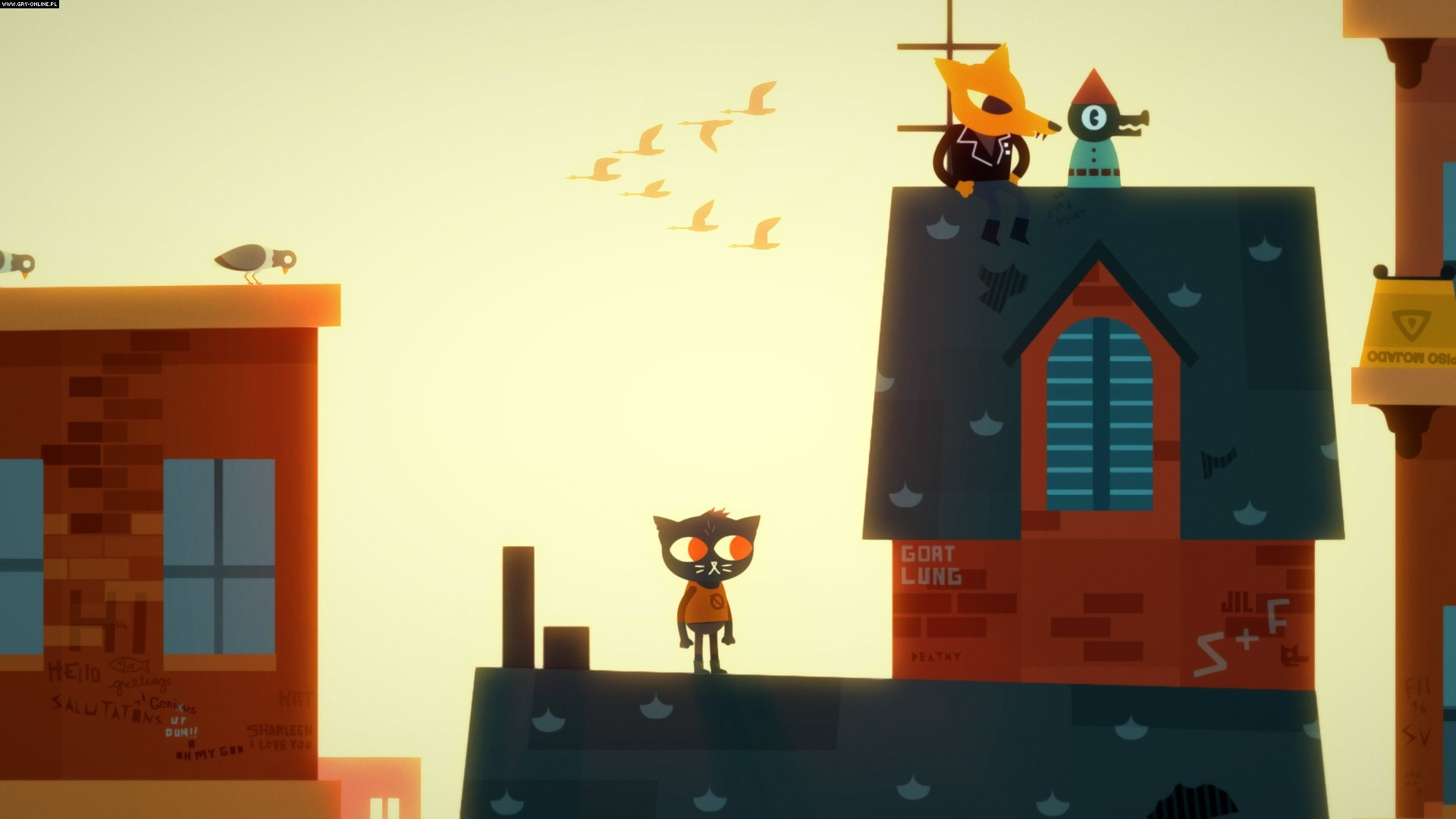 Скриншот Night in the Woods (2017) PC