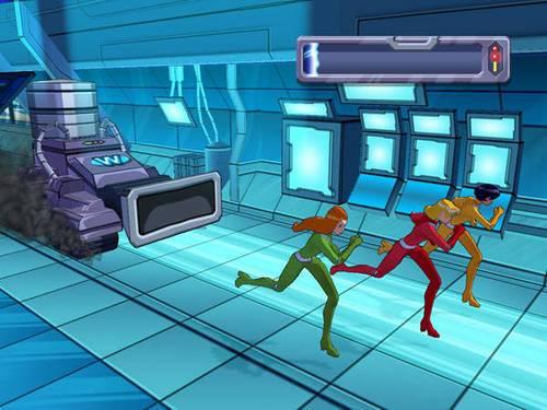 Скриншот Totally Spies: Супервечеринка (2007) PC