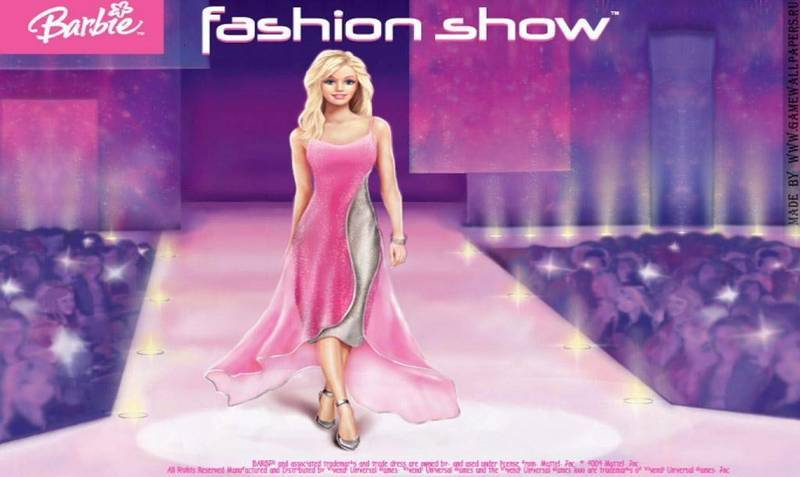 Скриншот Barbie Fashion Show: An Eye for Style (2008) PC