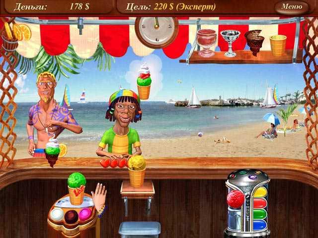Скриншот Ice Cream Mania (2008) PC