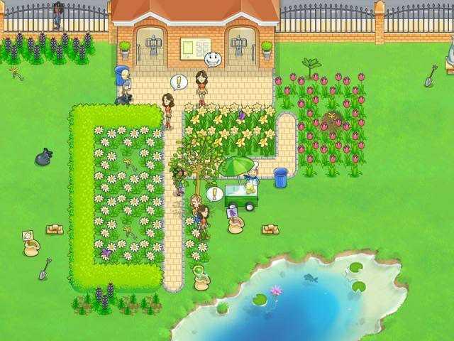 Скриншот Цветущие маргаритки (2011) PC