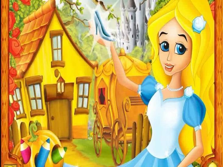 Скриншот Сказочные подружки: Золушка (2008) PC