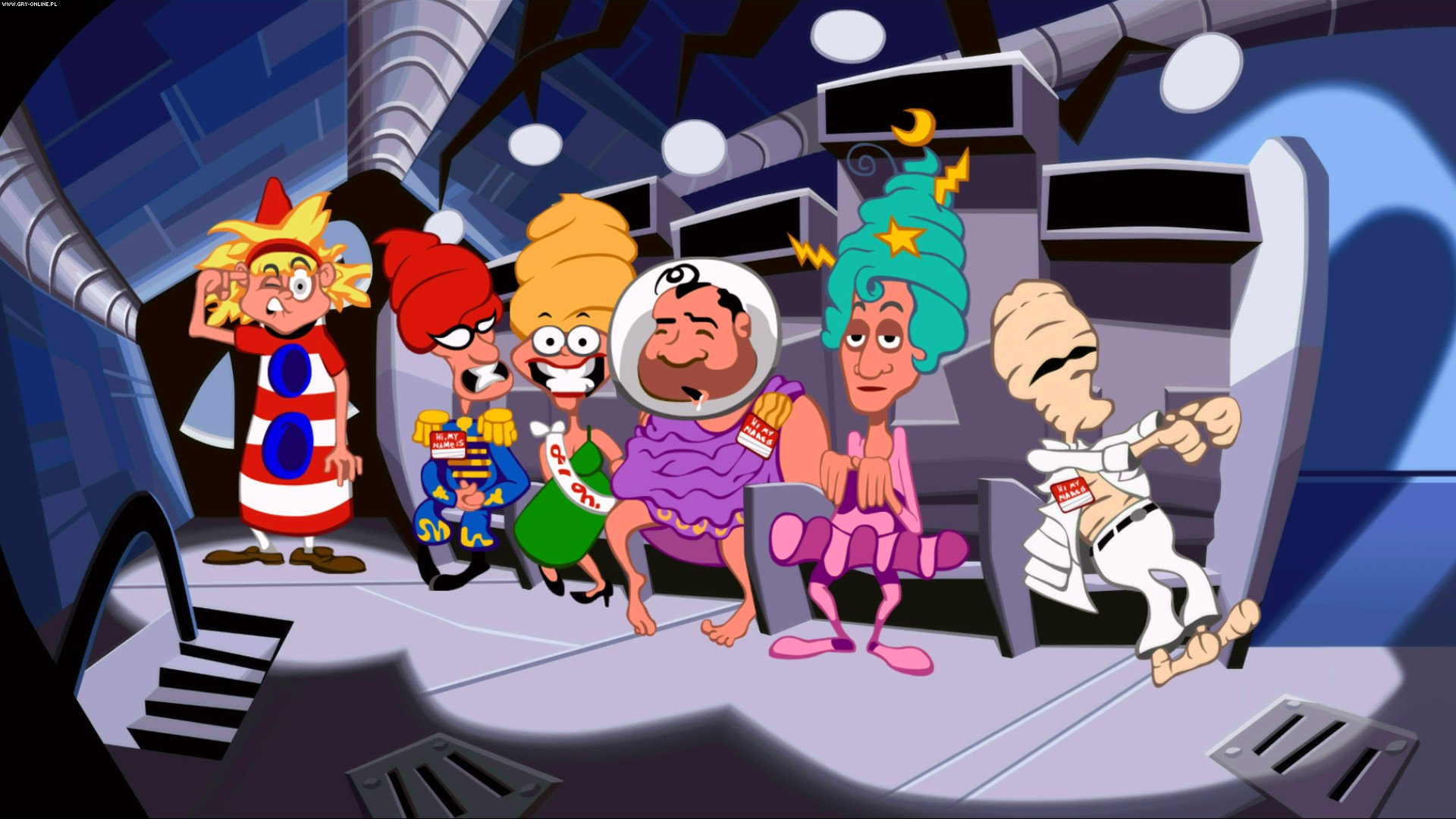 Скриншот Day of the Tentacle Remastered (2016) PC