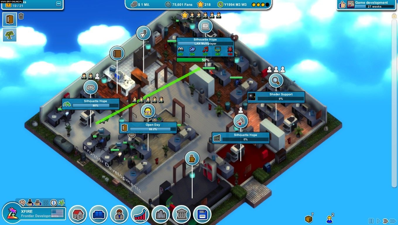 Скриншот Mad Games Tycoon (2016) PC