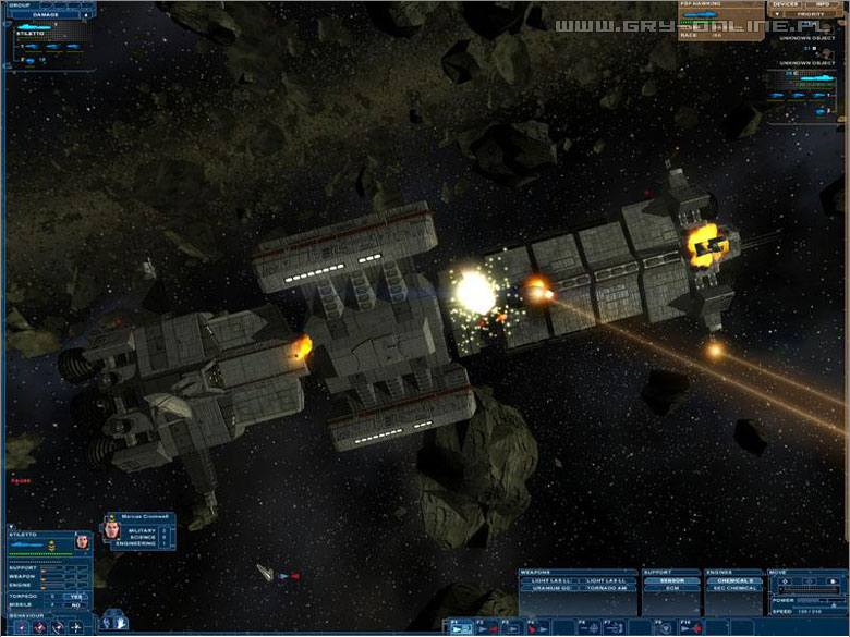 Скриншот Nexus: The Jupiter Incident Remastered (2016) PC