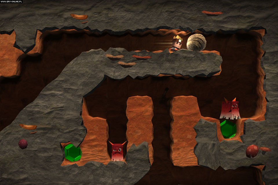 Скриншот Boulder Dash: 30th Anniversary (2016) PC