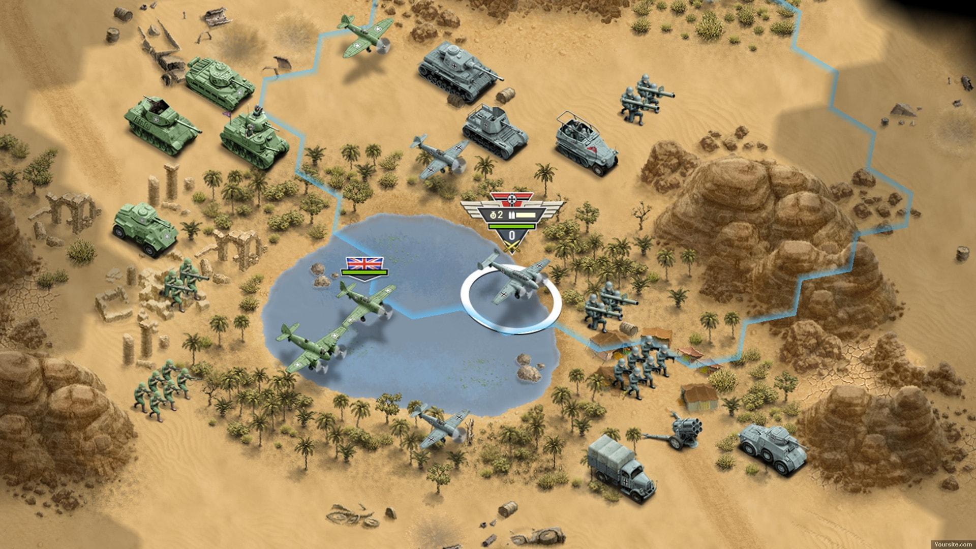 Скриншот 1943 Deadly Desert (2018) PC