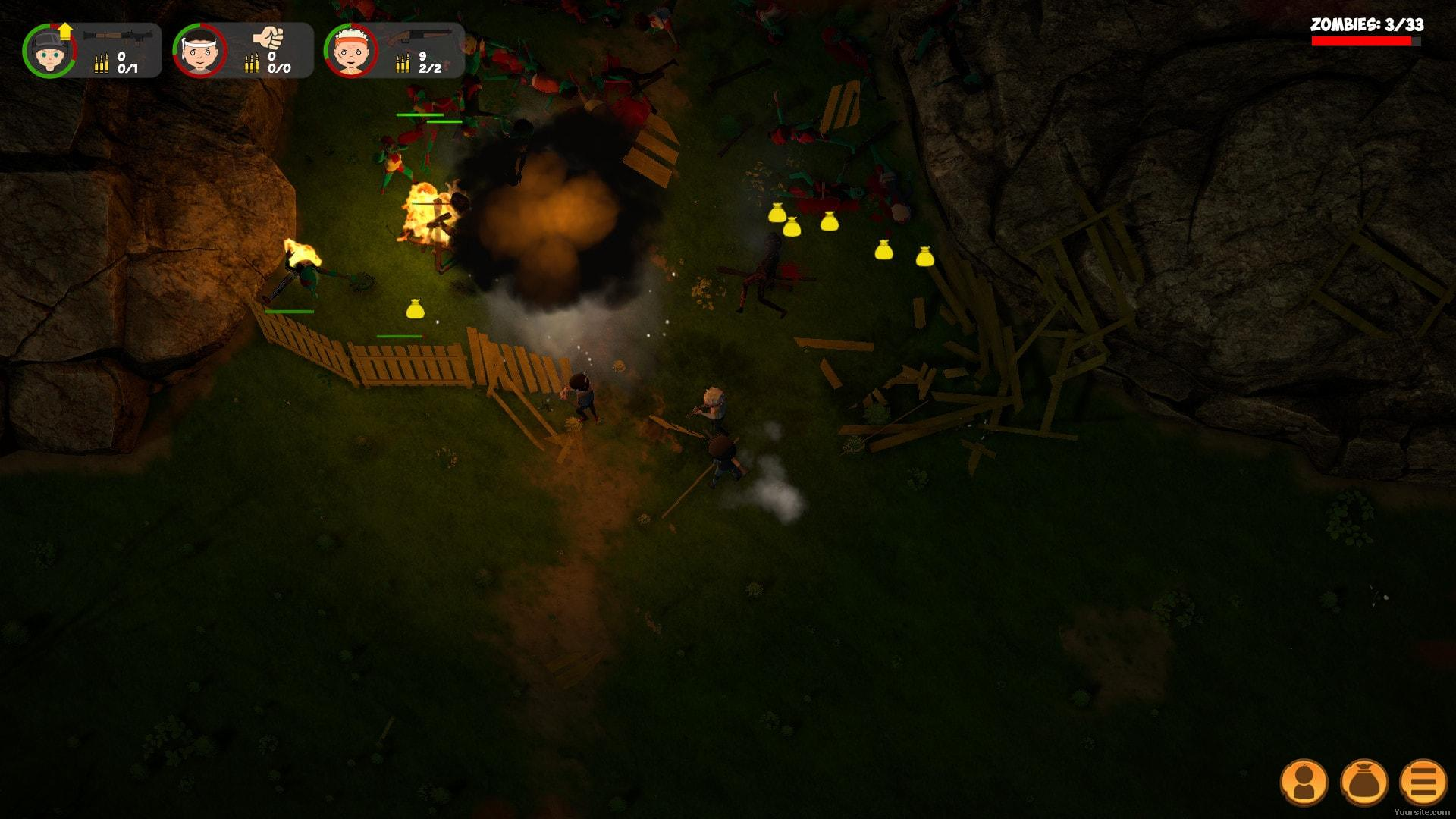 Скриншот Zombie Forest 2 (2018) PC