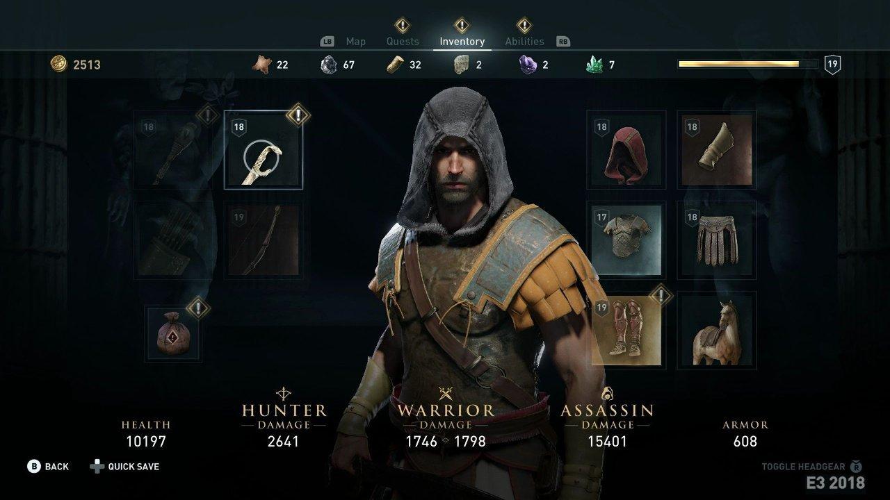 Скриншот Assassin's Creed: Odyssey (2018) РС