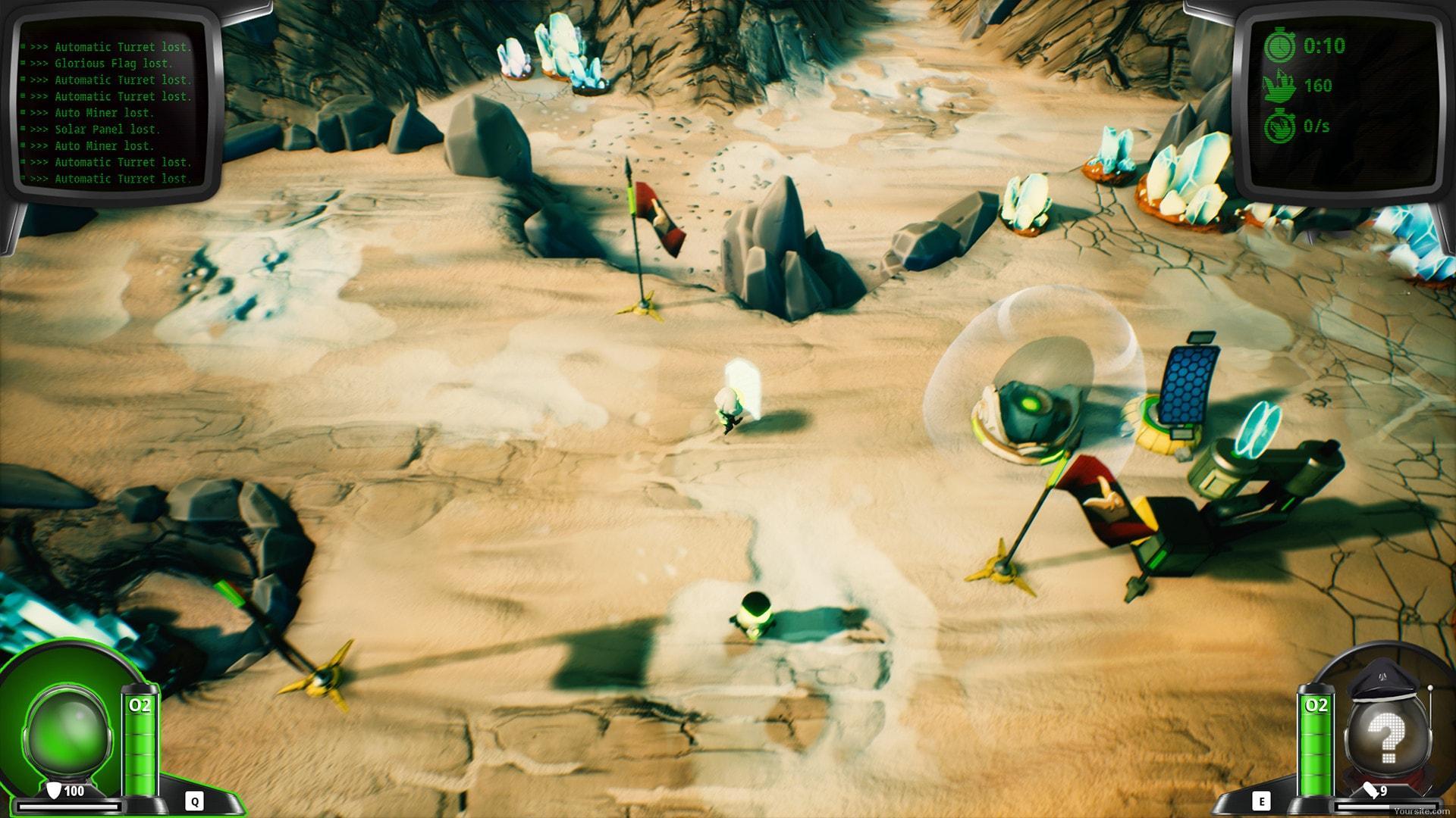 Скриншот Mars or Die! (2018) PC