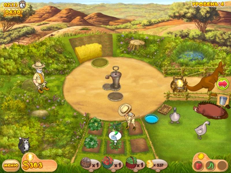 Скриншот Ферма Мания: Веселые каникулы (2011) РС