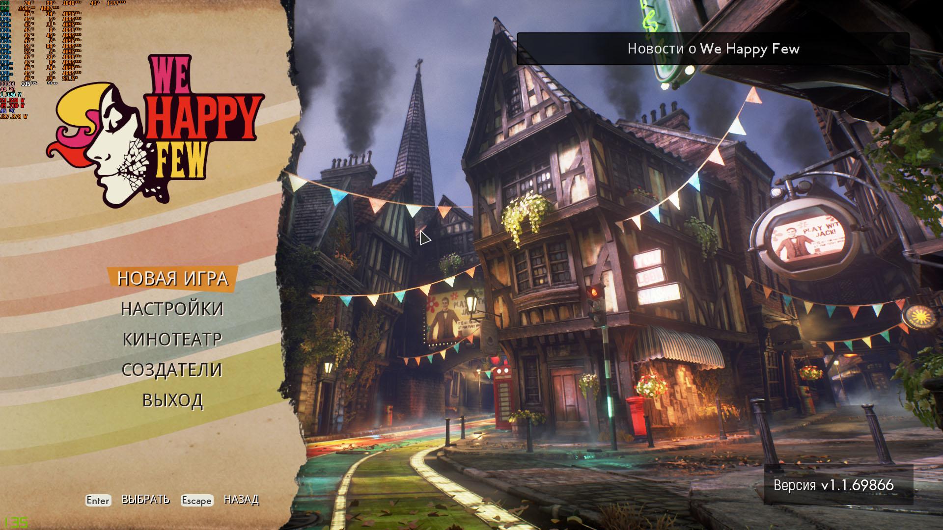 Скриншот We Happy Few (2018) PC