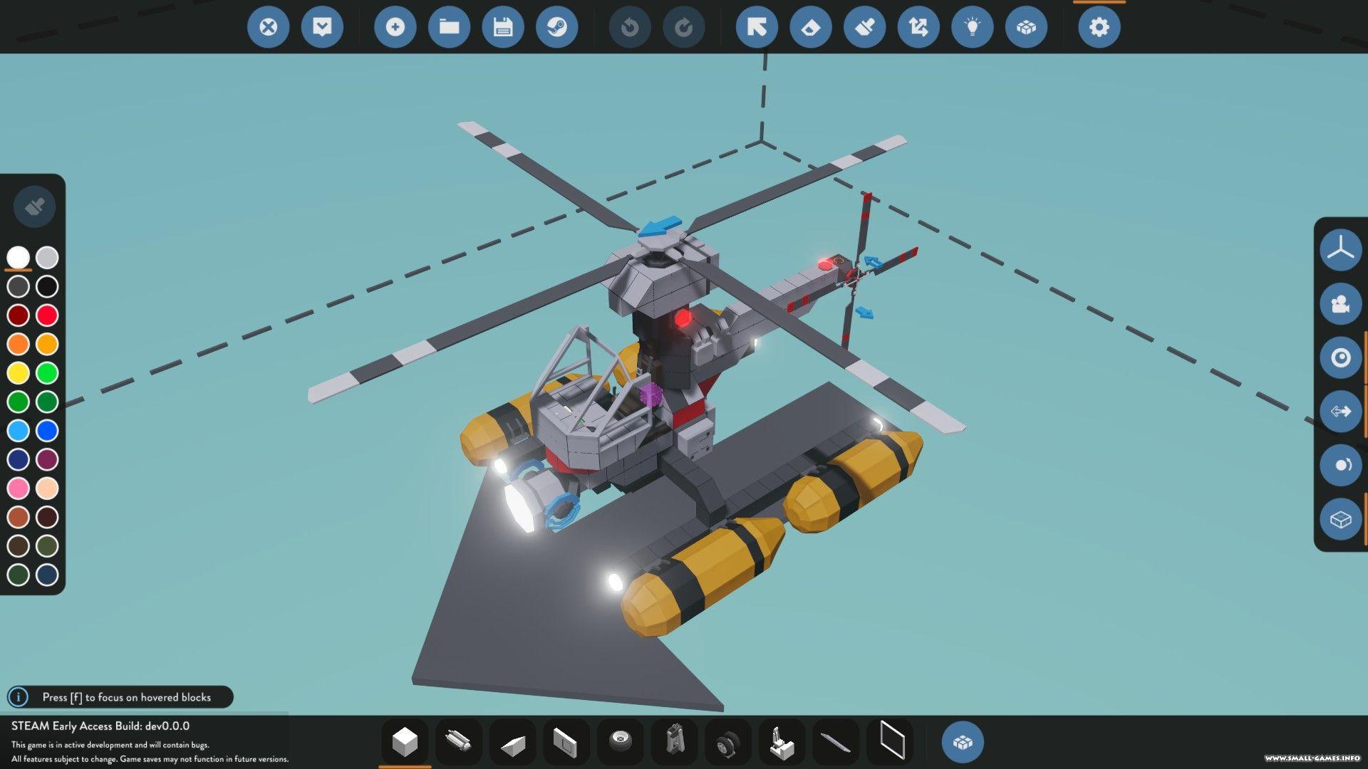 Скриншот Stormworks Build and Rescue (2017) РС
