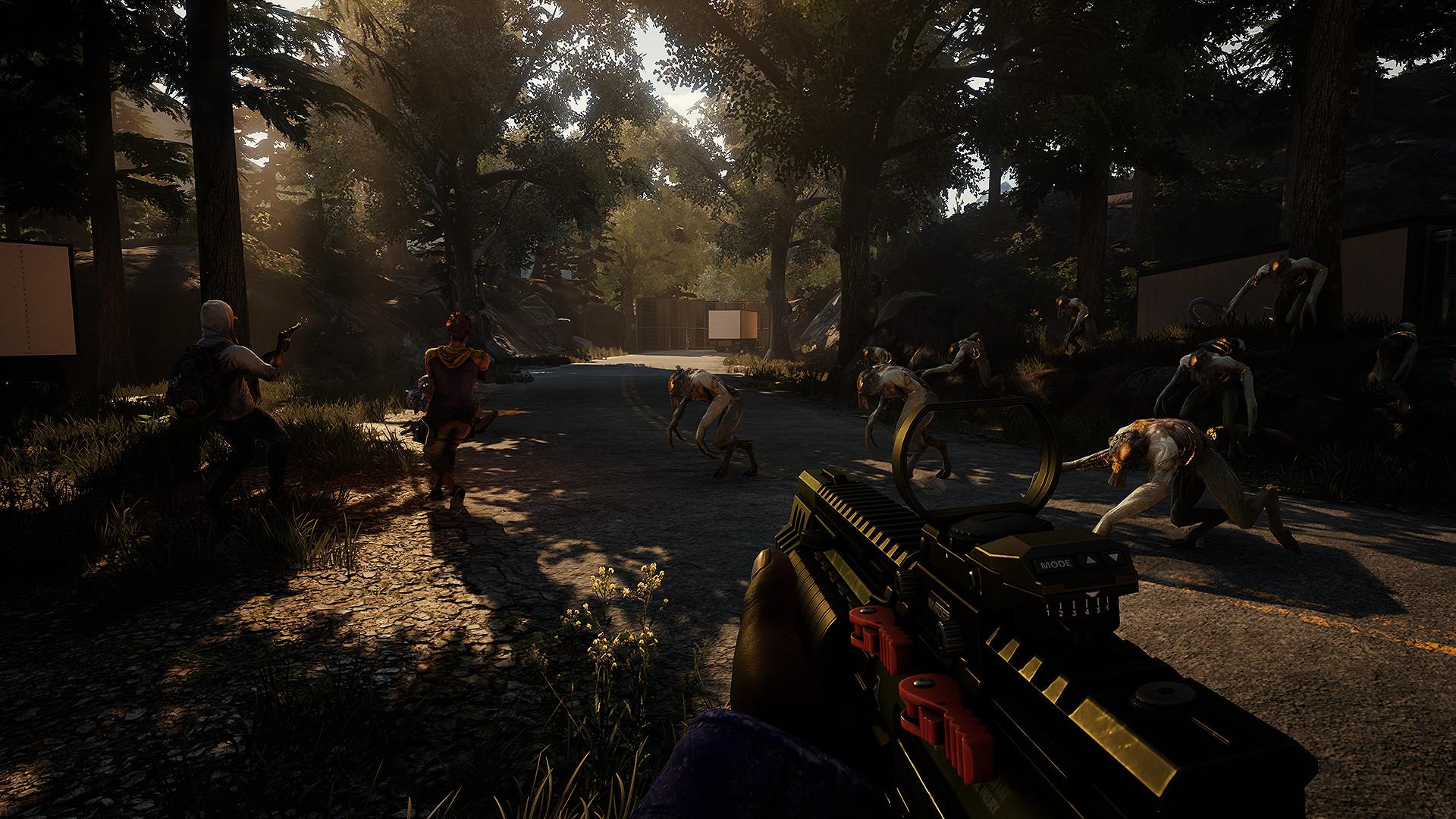 Скриншот Earthfall (2018) PC