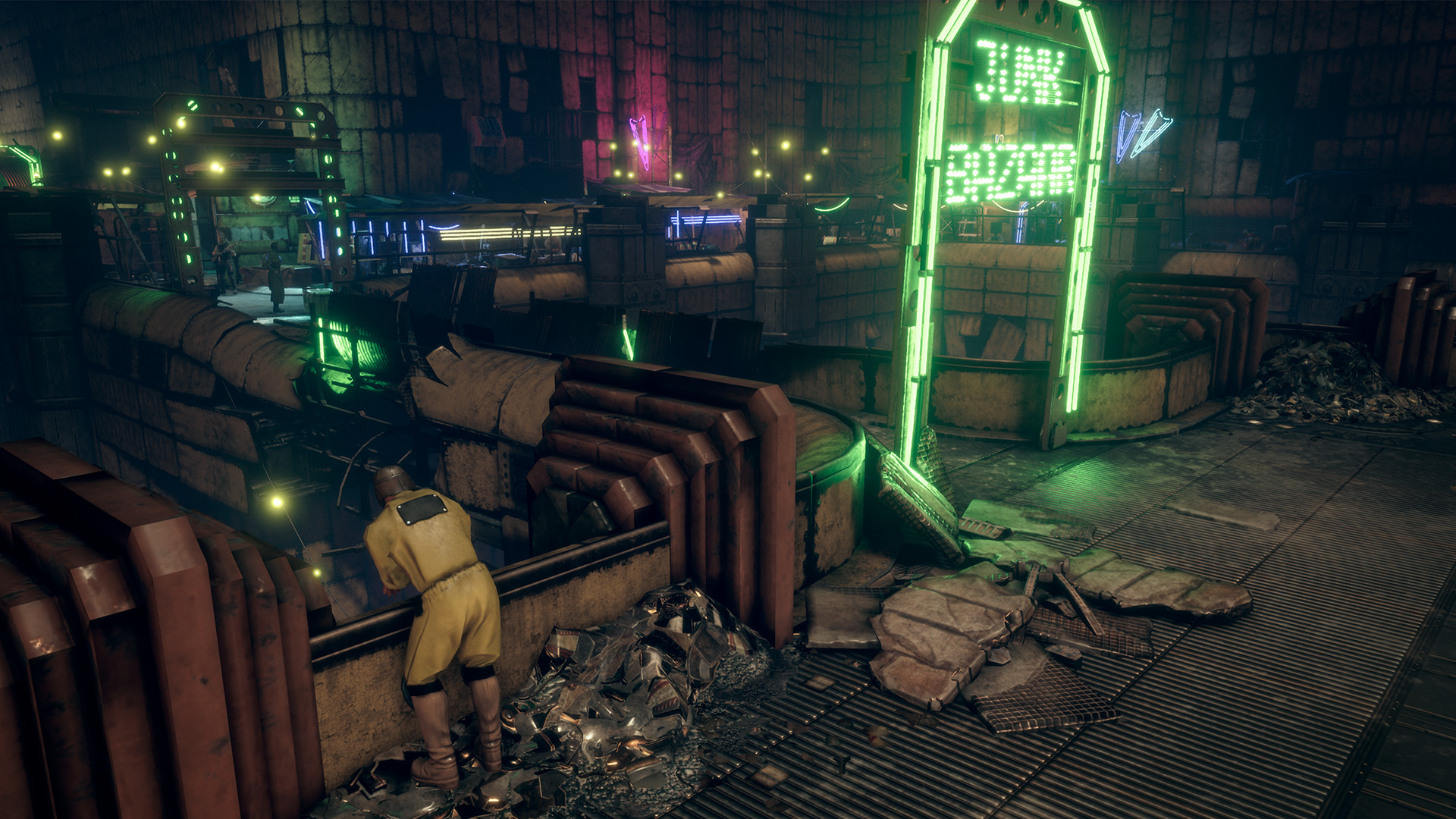 Скриншот Insomnia: The Ark (2018) PC