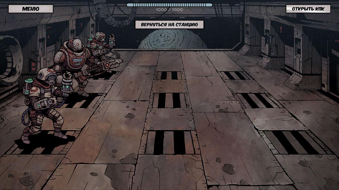 Скриншот Deep Sky Derelicts (2018) PC