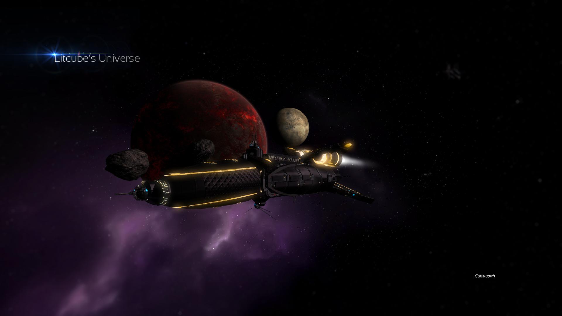 Скриншот X: Litcube's Universe (2008-2018) PC