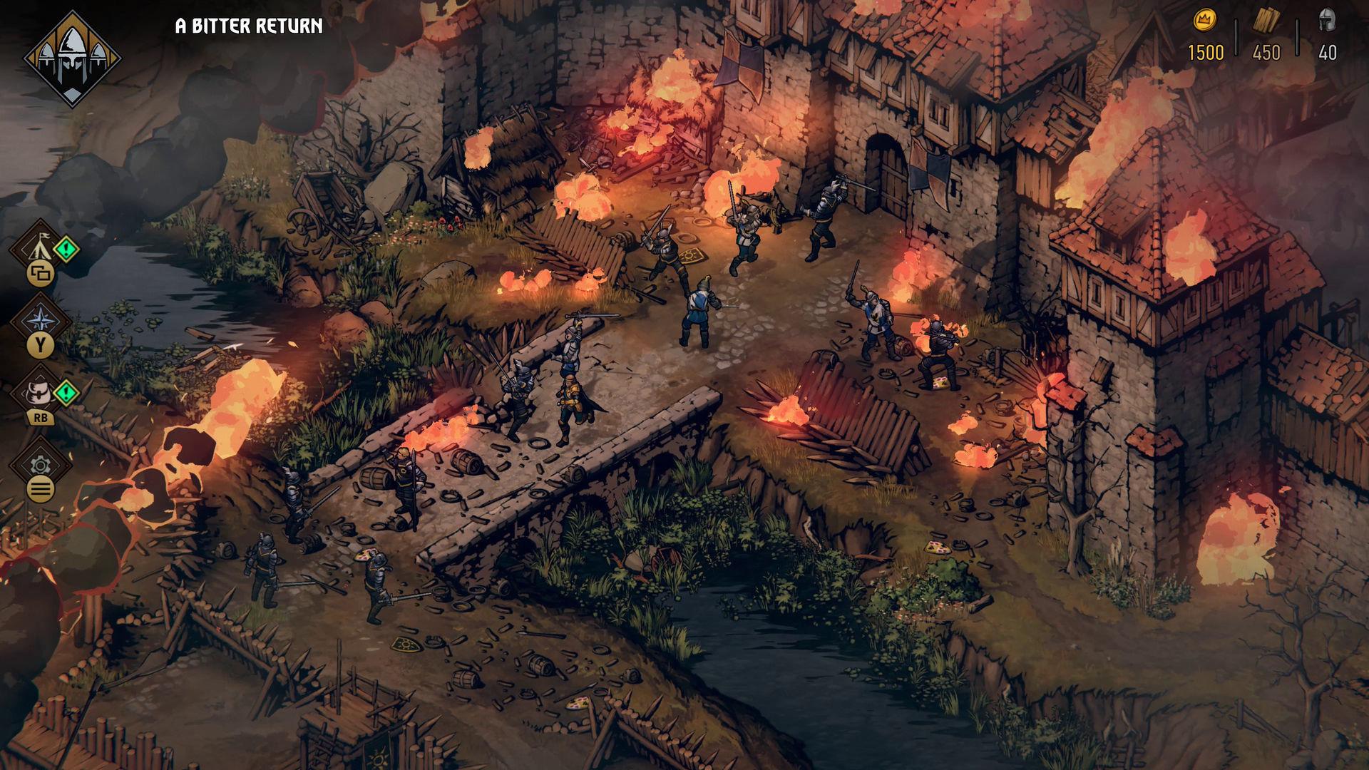 Скриншот Кровная вражда: Ведьмак. Истории (2018) PC