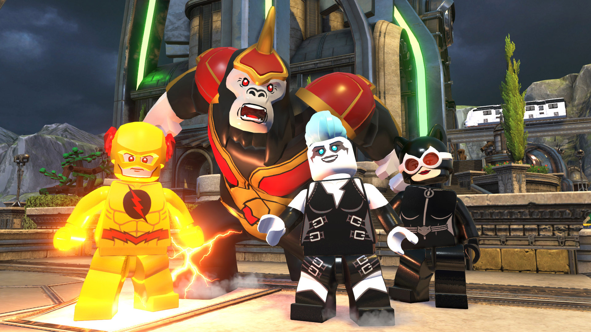 Скриншот LEGO DC Super-Villains Deluxe Edition (2018) PC