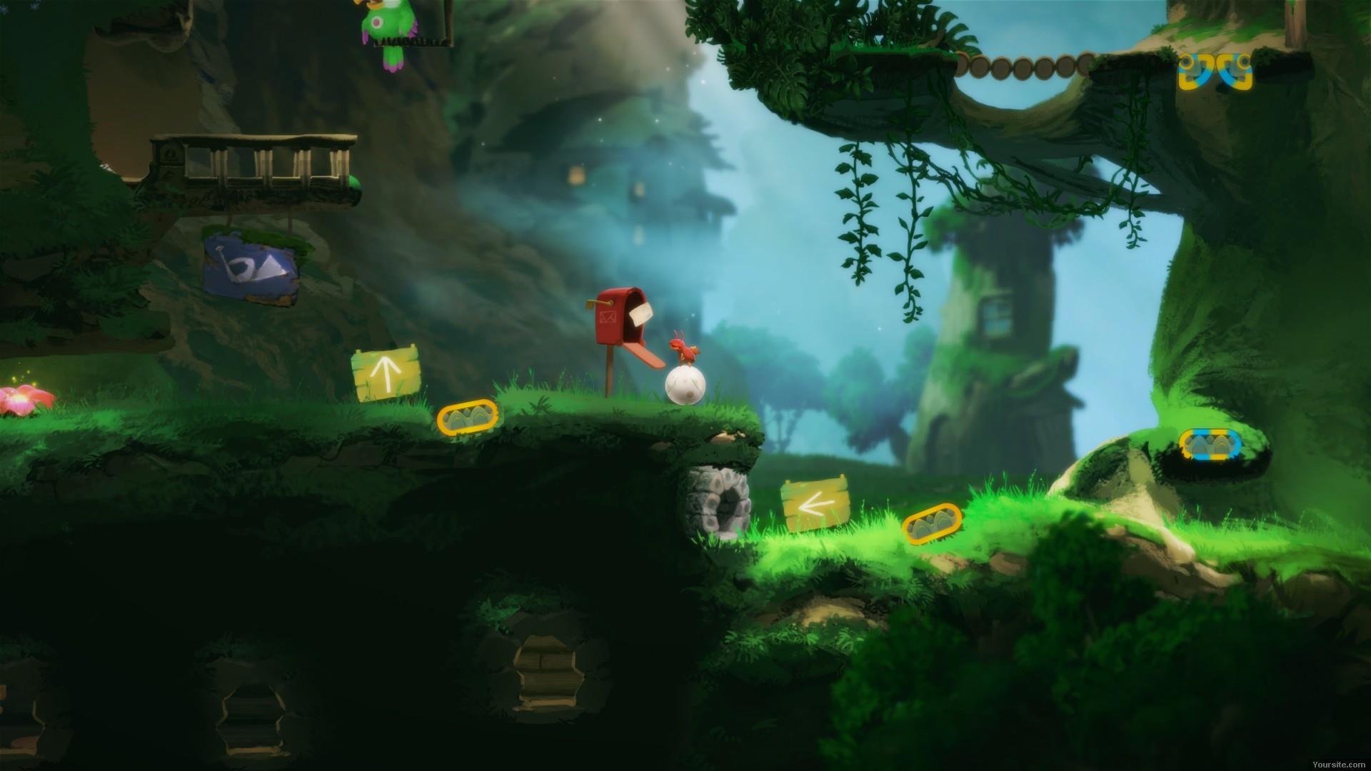 Скриншот Yoku's Island Express [v.1.2] (2018) PC