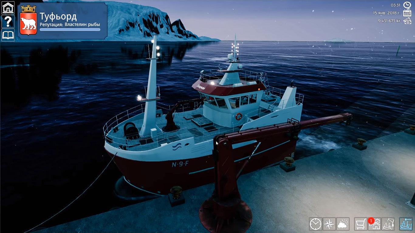 Скриншот Fishing: Barents Sea [2 DLC] (2018) PC