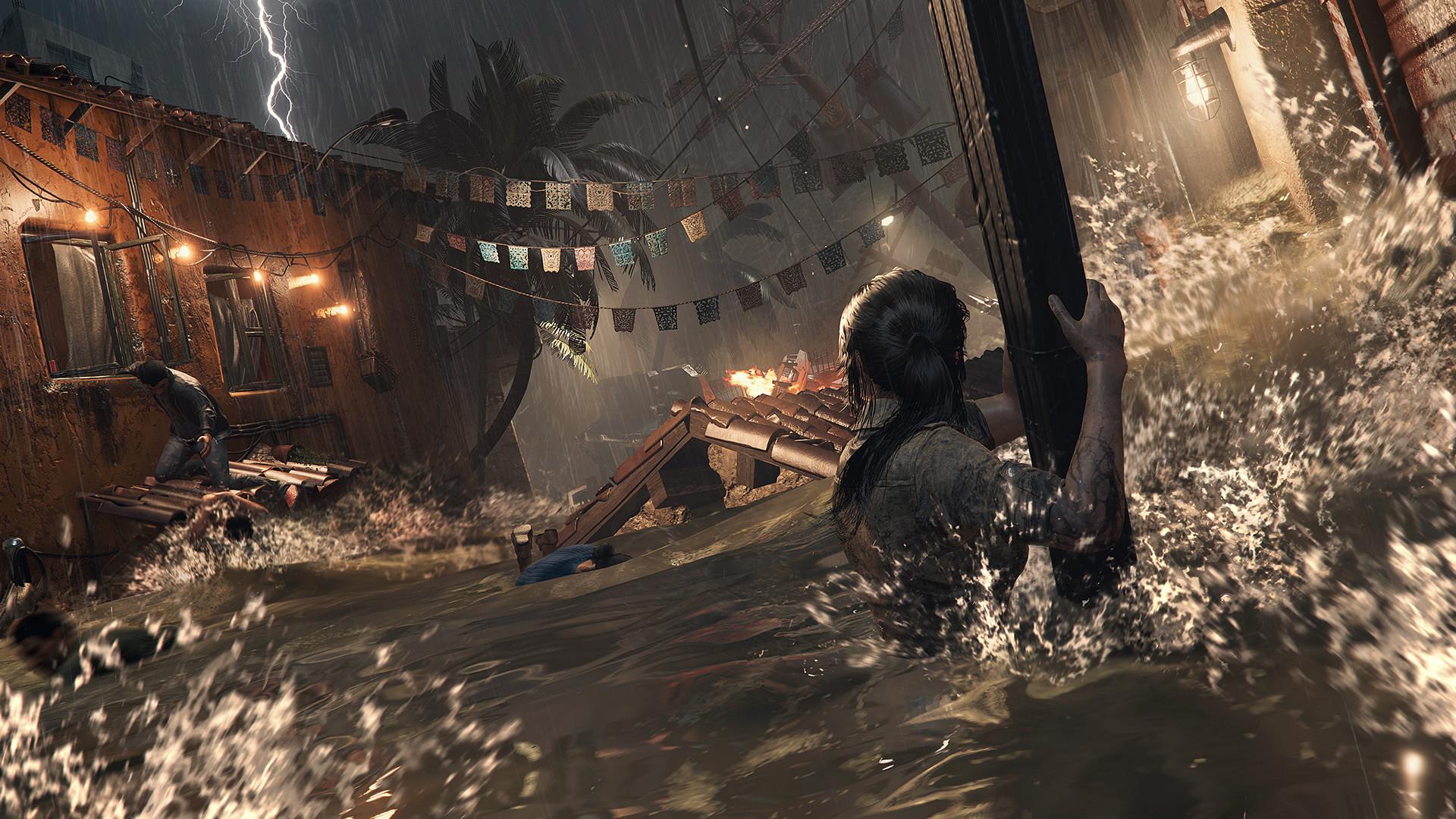 Скриншот Shadow of the Tomb Raider - Croft Edition (2018) PC