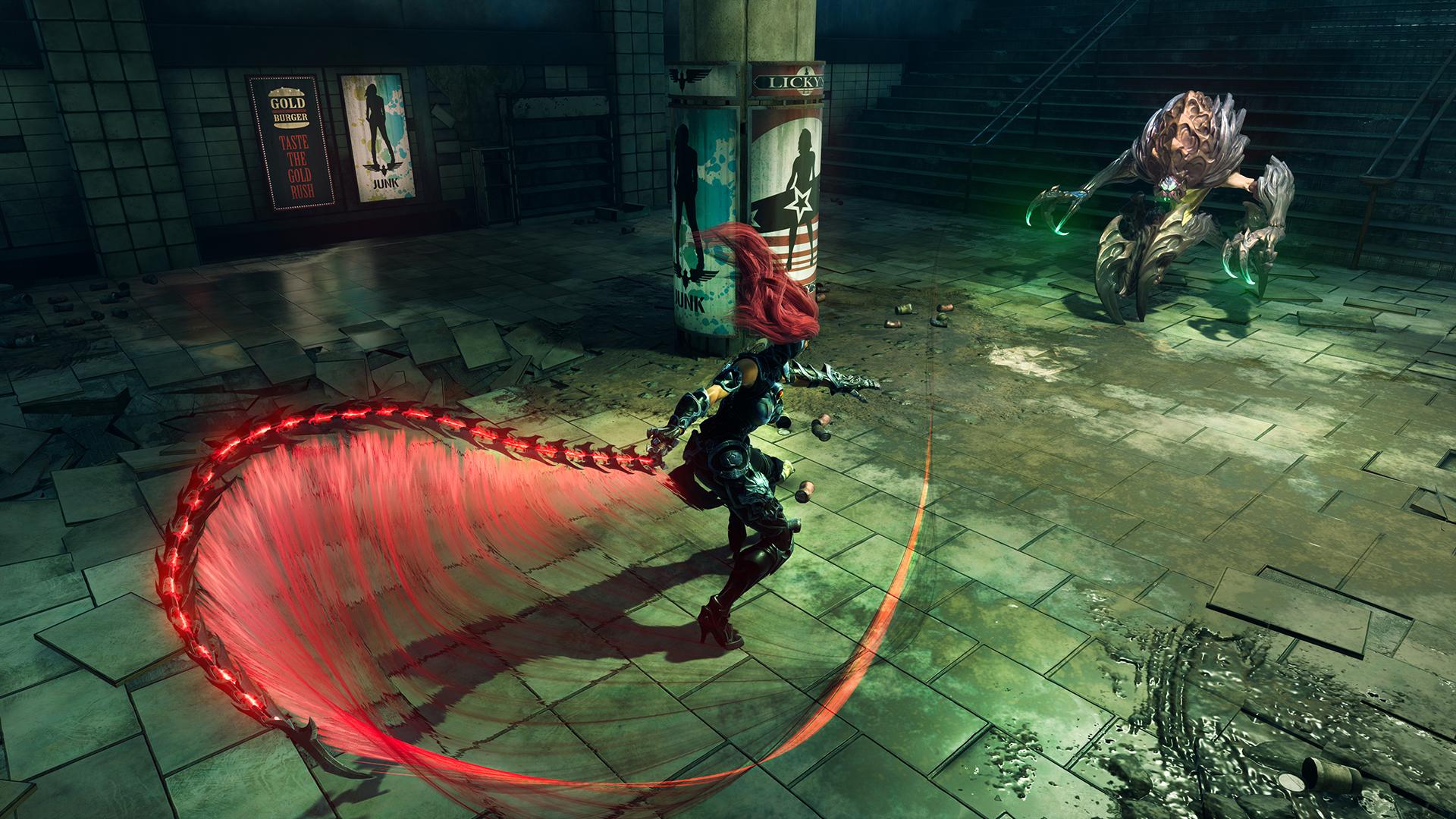 Скриншот Darksiders III: Deluxe Edition (2018) PC