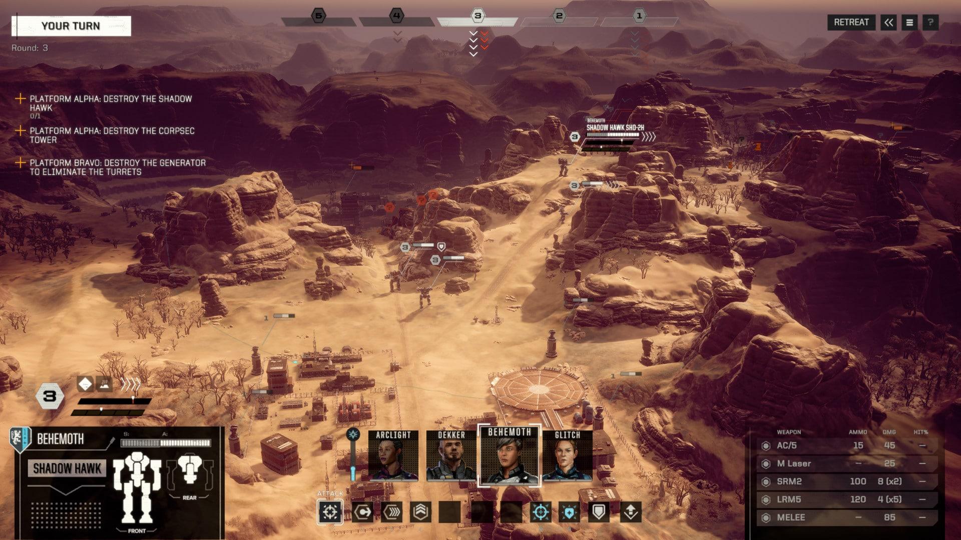 Скриншот BattleTech: Digital Deluxe Edition (2018) PC