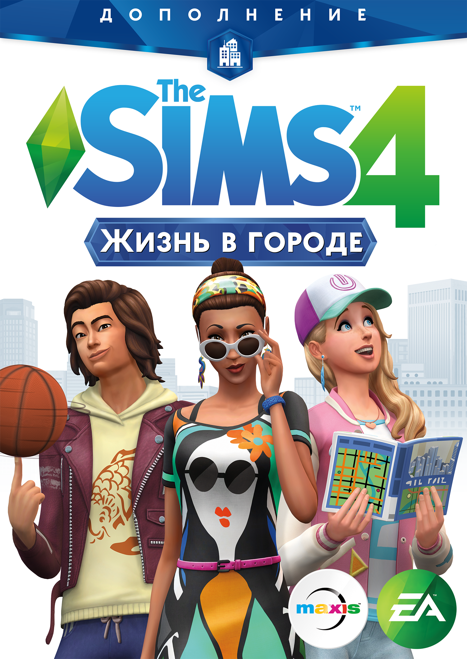 The Sims 4 City Living (2016) РС