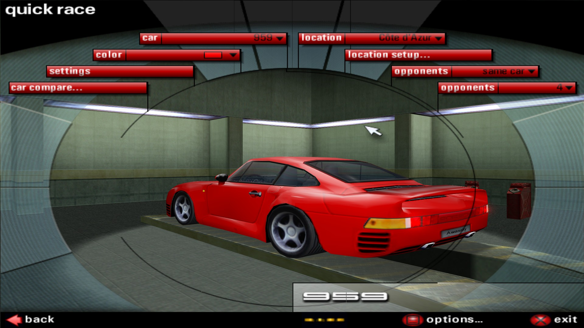 Скриншот Need for Speed Porsche Unleashed