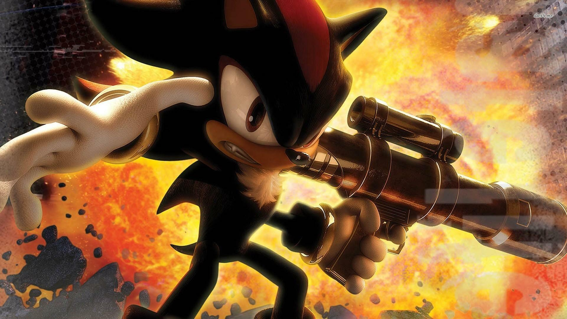 Скриншот Shadow The Hedgehog игра