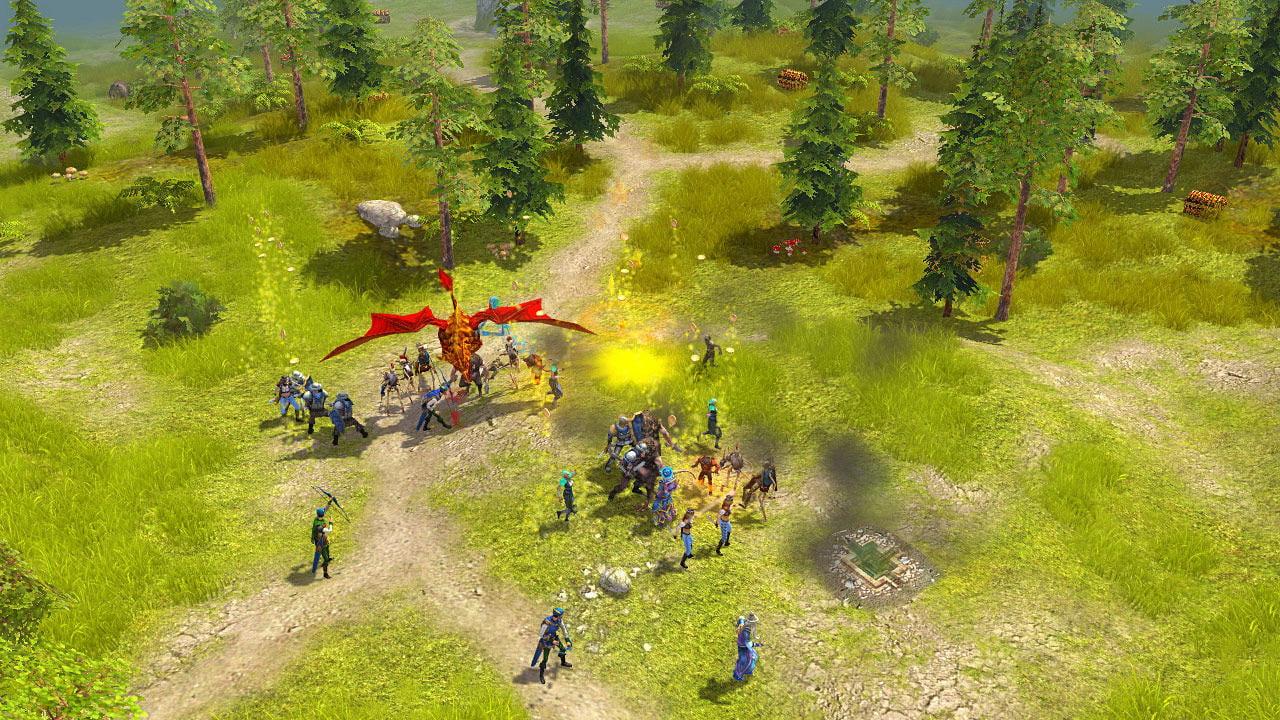 Скриншот Majesty 2: The Fantasy Kingdom Sim (2009) PC