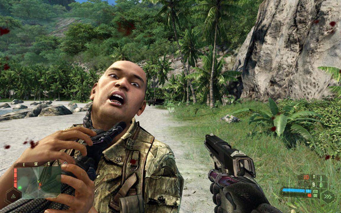 Скриншот Crysis [v.1.1.1.6156] (2007) PC