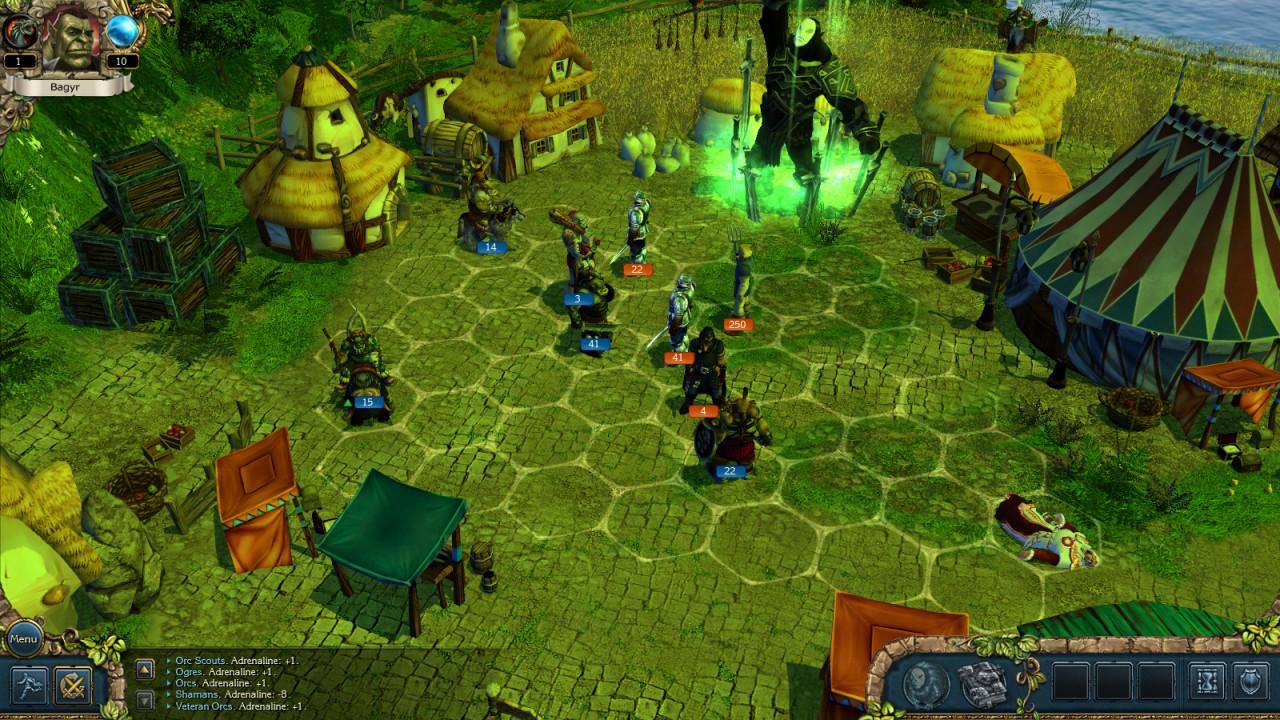 Скриншот King's Bounty: Темная Сторона / King's Bounty: Dark Side (2014) PC | RePack от R.G. Механики