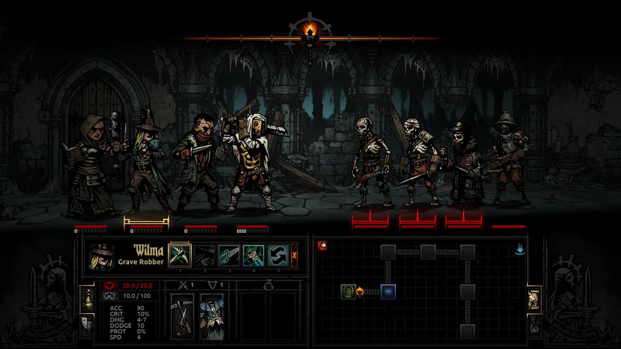 Скриншот Darkest Dungeon [Build 20340] (2016) PC