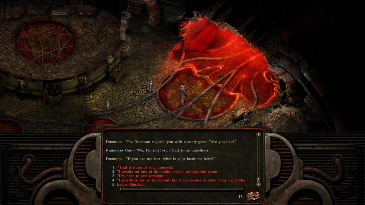 Скриншот Planescape: Torment: Enhanced Edition [v 3.0.3.0] (2017) PC