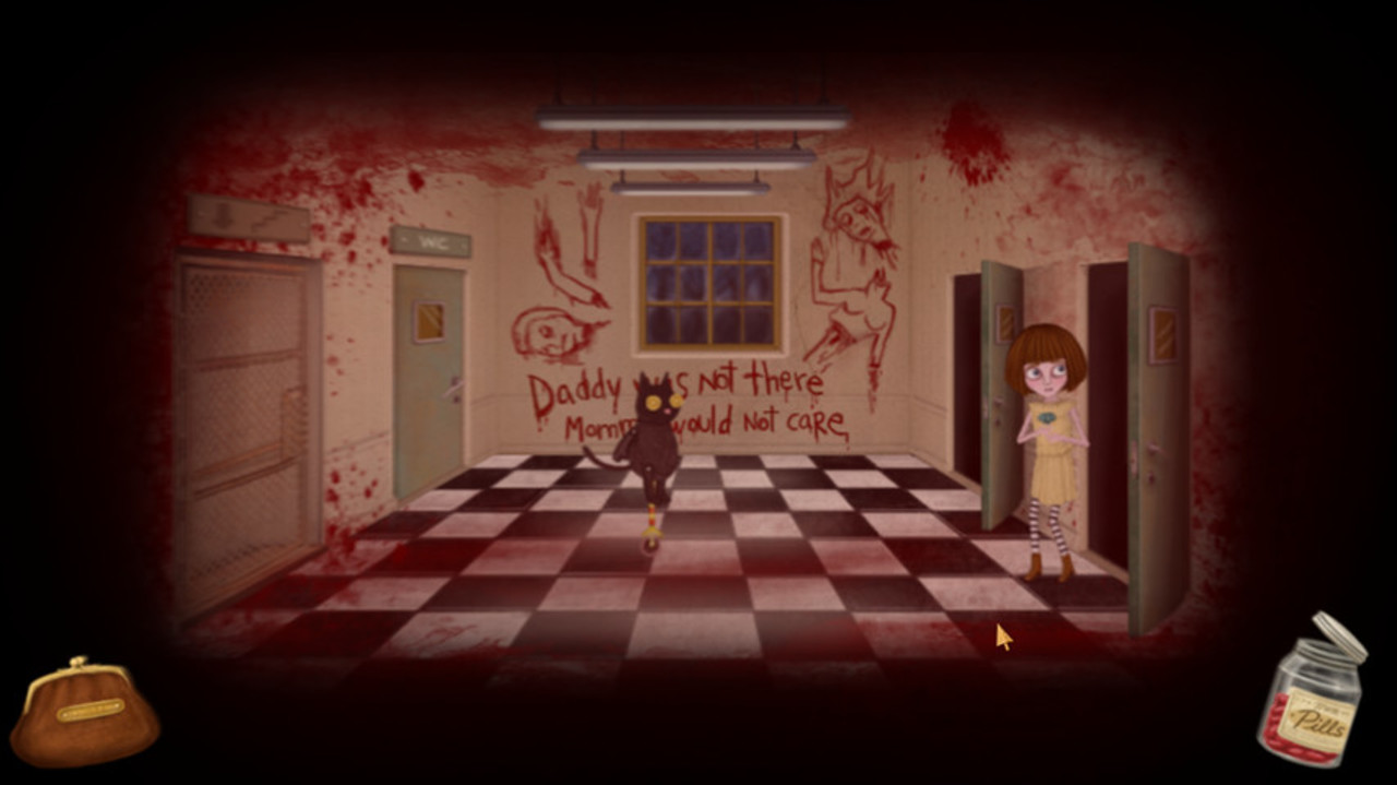 Скриншот Fran Bow [Update 3] (2015) PC | RePack от R.G. Механики