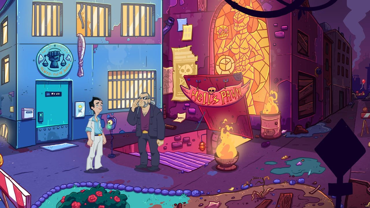 Скриншот Leisure Suit Larry - Wet Dreams Don't Dry (2018) PC
