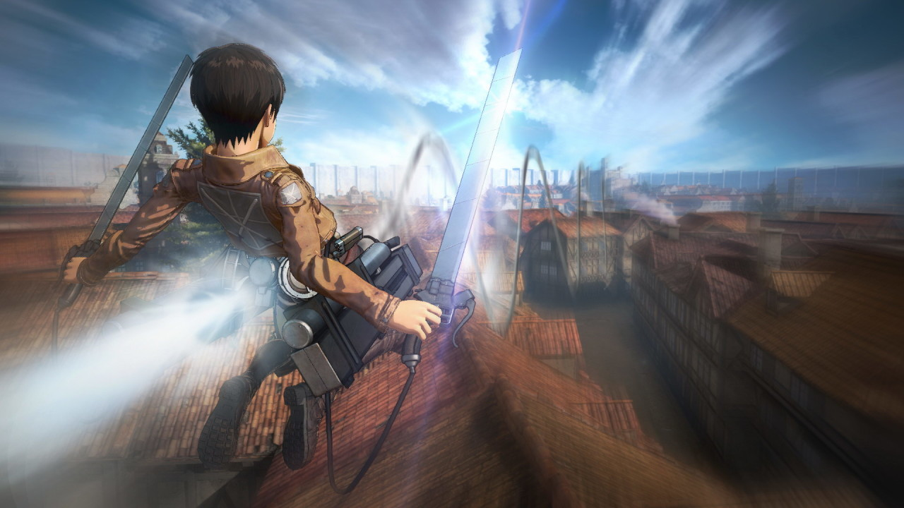 Скриншот Attack on Titan / A.O.T. Wings of Freedom (2016) PC