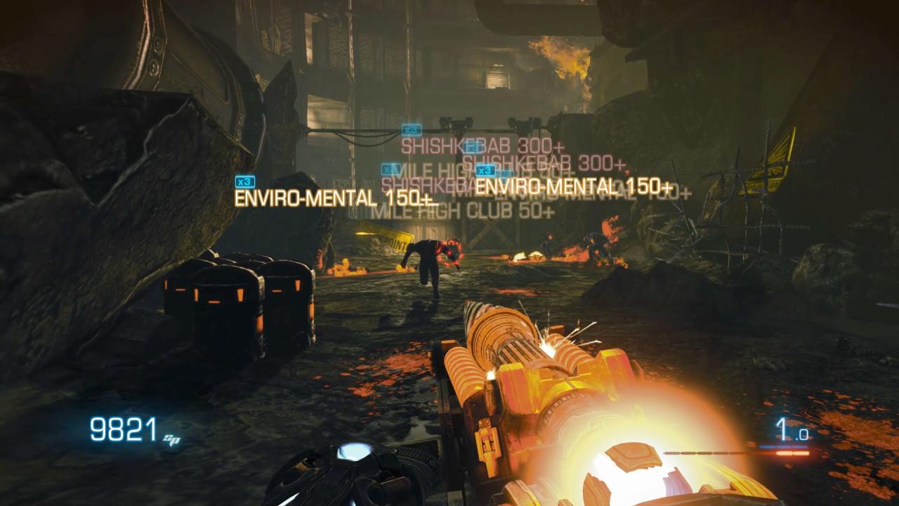 Скриншот Bulletstorm: Full Clip Edition (2017) PC | RePack от R.G. Механики
