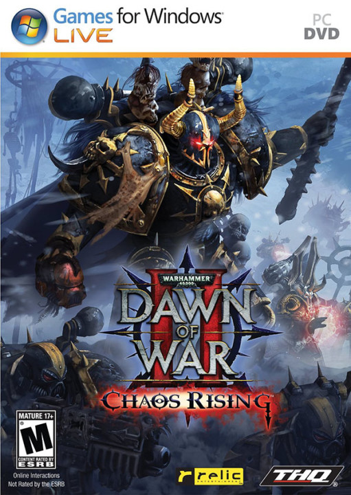 Warhammer 40,000: Dawn of War II: Chaos Rising (2009-2010) PC | RePack от R.G. Механики