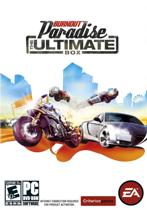 Burnout Paradise: The Ultimate Box (2009) PC | RePack от R.G. Механики